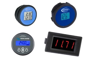 battery meters and monitors