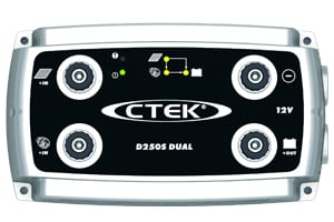D250S Dual DC-DC Smart Charger.