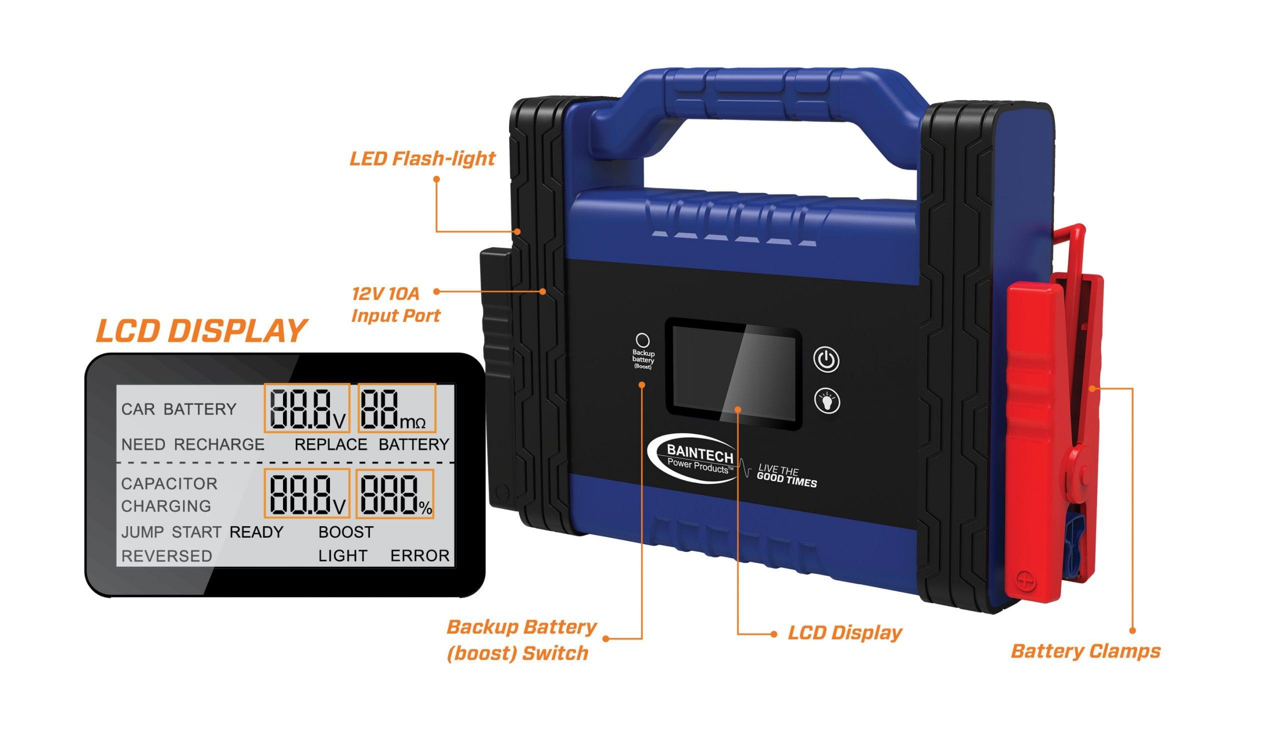 New Jump Starter from Bainbridge Technologies