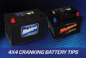 4X4 Cranking Battery