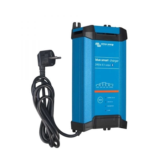 Victron Blue Smart IP22 Battery Charger 24V 16A 1 Outlet