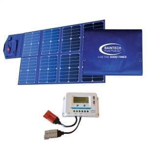 Baintech 120 Watt Foldable Solar Blanket