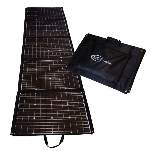 Foldable Solar Blanket
