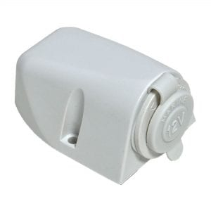 Baintech White Ciga Socket Surface Mount