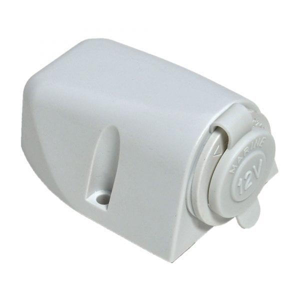 Baintech White Ciga Socket Surface Mount