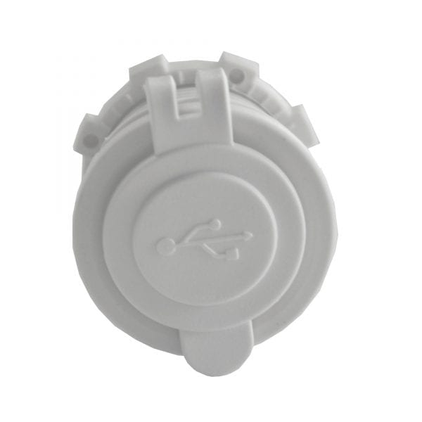 Baintech 2.4A USB White Socket