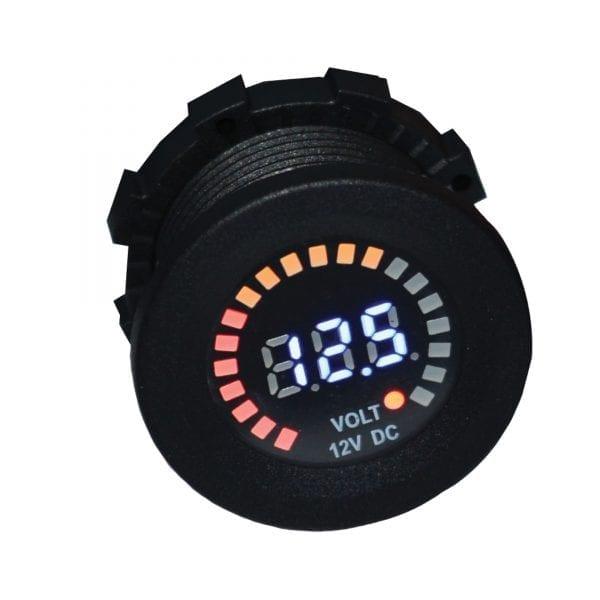 Baintech 12v Dc Voltmeter Socket