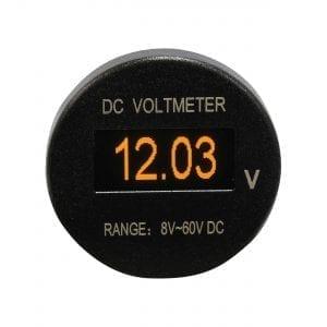Baintech Oled Dc Voltmeter Input 12v/24v Dc