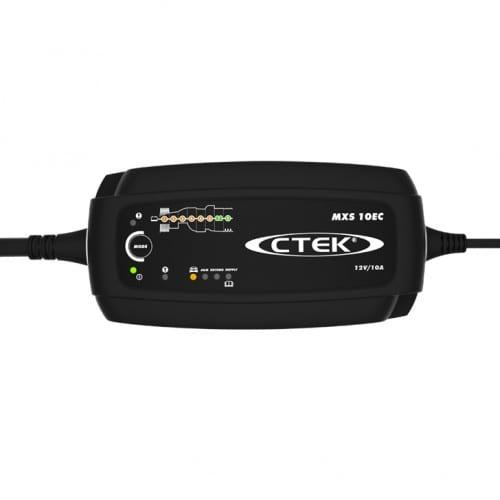 CTEK MXS 10EC CHARGER & BATTERY SUPPORT UNIT