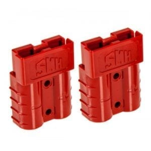 Baintech Red 50A Anderson Plug 2 Pack
