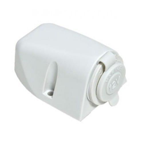 Baintech Surface Mount Single Ciga Socket White