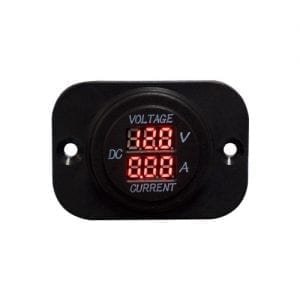 Baintech Led Volt & Amp Meter with Flush Mount