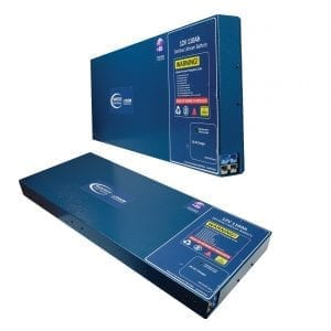 Baintech 12V 110Ah Slimline 20A DC-DC Lithium Battery