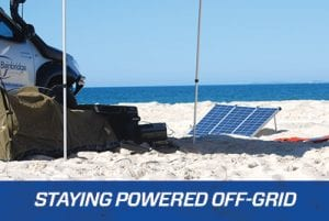 Tips for Keeping your Batteries Charged while Off-Grid