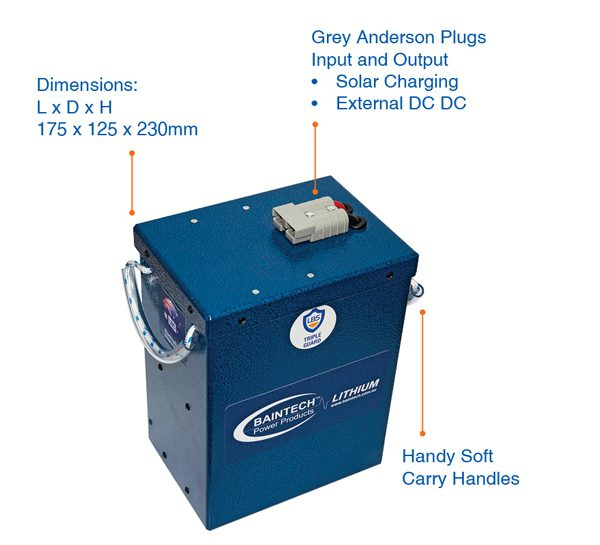 75Ah Compact Lithium Battery