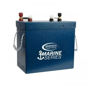 Marine Series 12V 110Ah Lithium Battery with in-built DC DC Charger