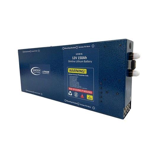 150Ah Slimline Lithium Battery