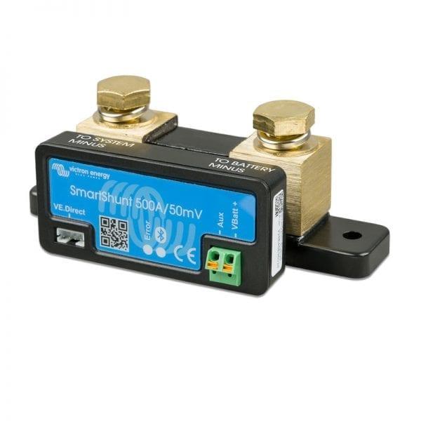 Victron-Battery-Monitor-SmartShunt-500A-50mV-(left)